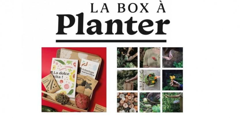 La Box à planter : La première box jardinage bio 100% made in France